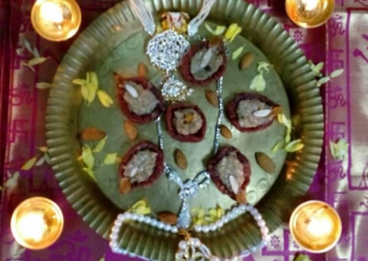 Recipe of Homemade Saffron deepam