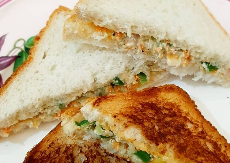 Recipe of Favorite Healthy Curd Sandwiches