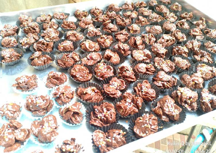 3* Choco Cornflakes Cookies