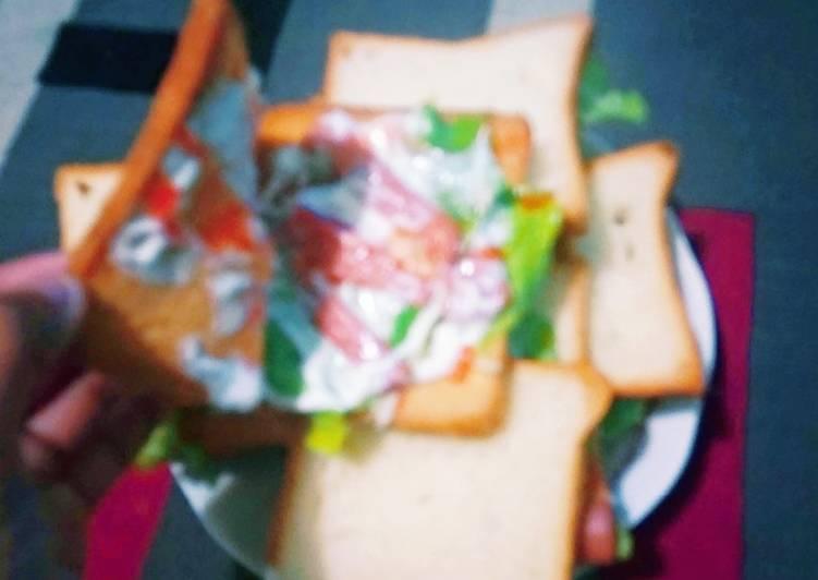 Berger roti tawar