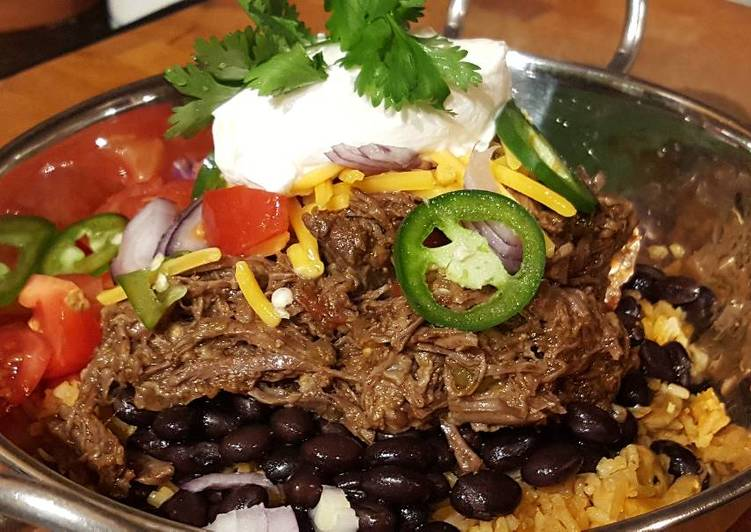Recipe of Quick Barbacoa Burrito Bowls