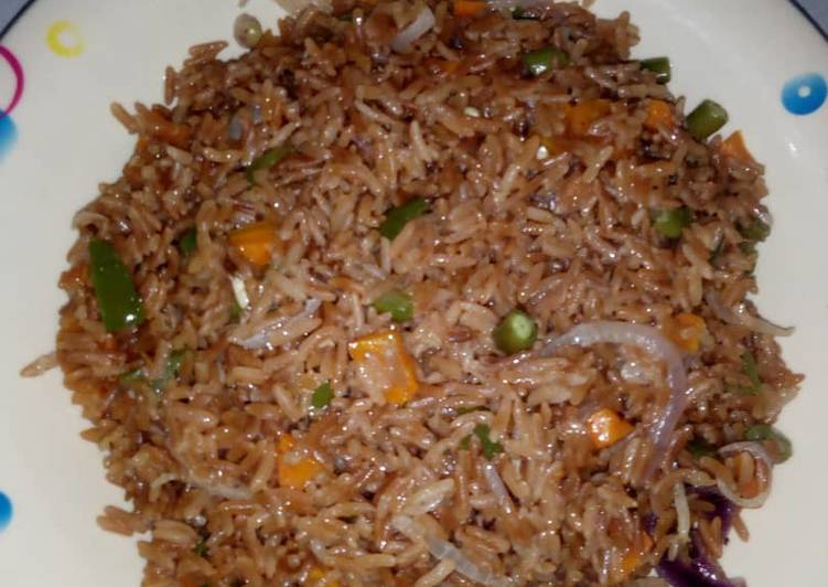 Simple Way to Make Super Quick Homemade Fried brown rice
