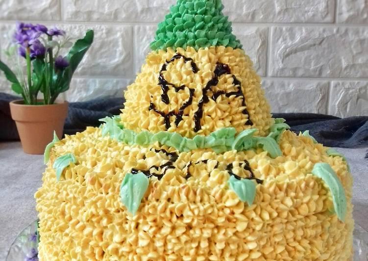51 - Cake Tumpeng
