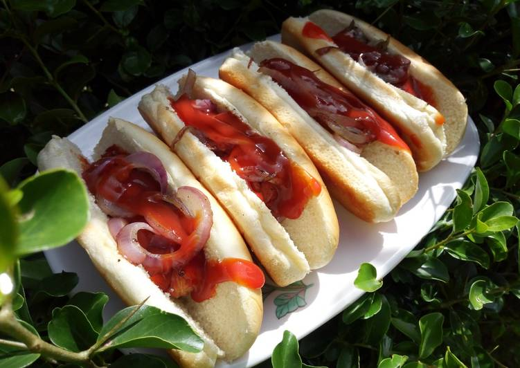 Easiest Way to Prepare Appetizing Easy Hot Dog Snack Fix