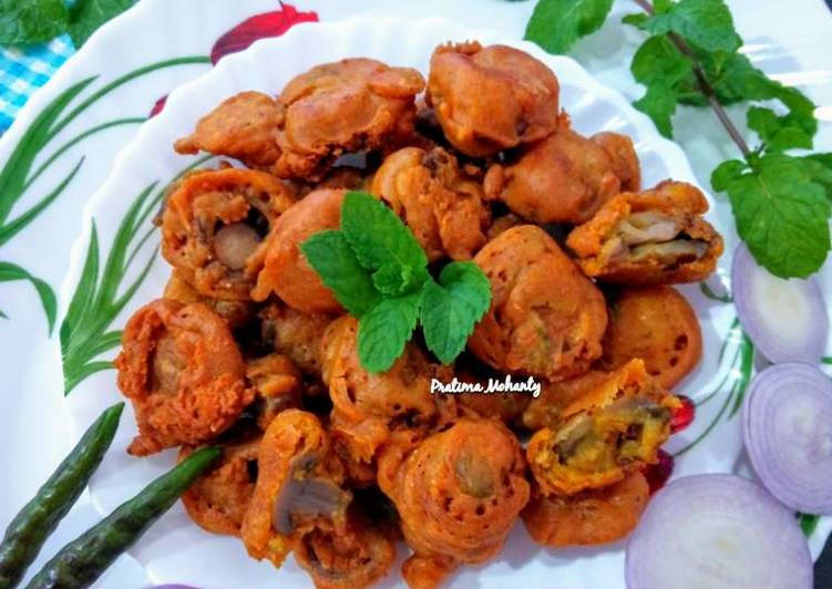 The Food Items You Select To Eat Are Going To Effect Your Health Mushroom Pakoda