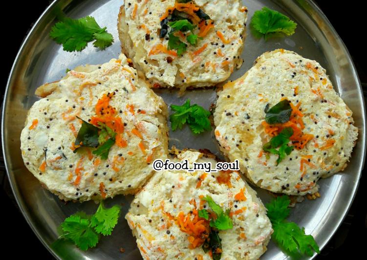 Yogurt-Potato Bread Idli