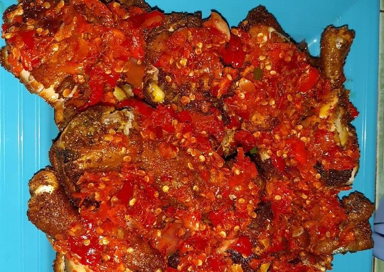 Resep Ayam penyet sambal geprek yang Sempurna