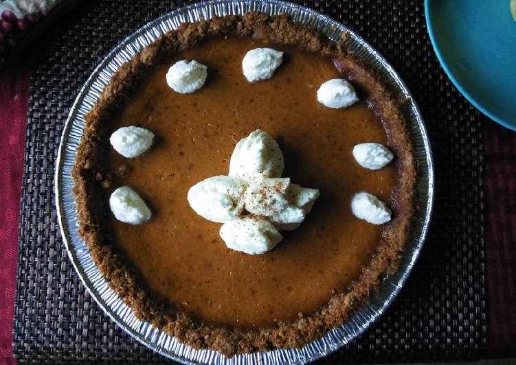 Easiest Way to Make Perfect Pumpkin pie