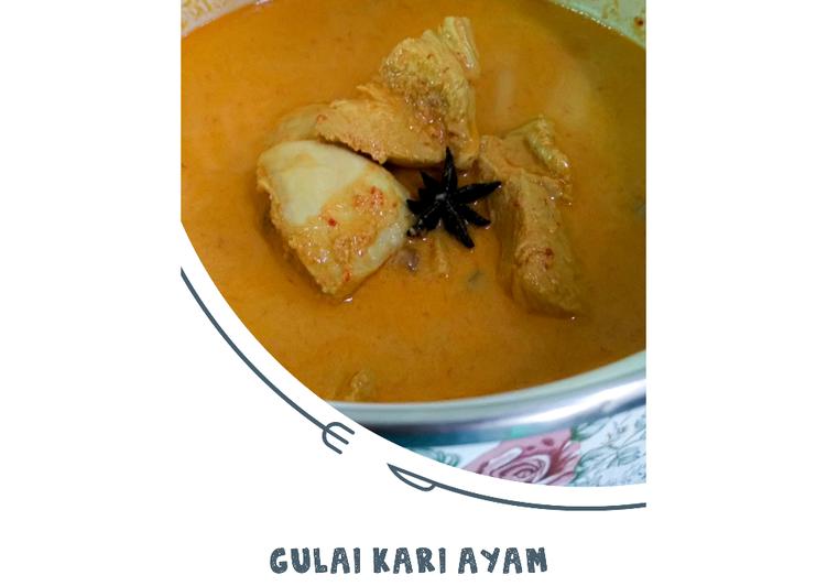 Resep Gulai Kari Ayam ekonomis untuk dijual