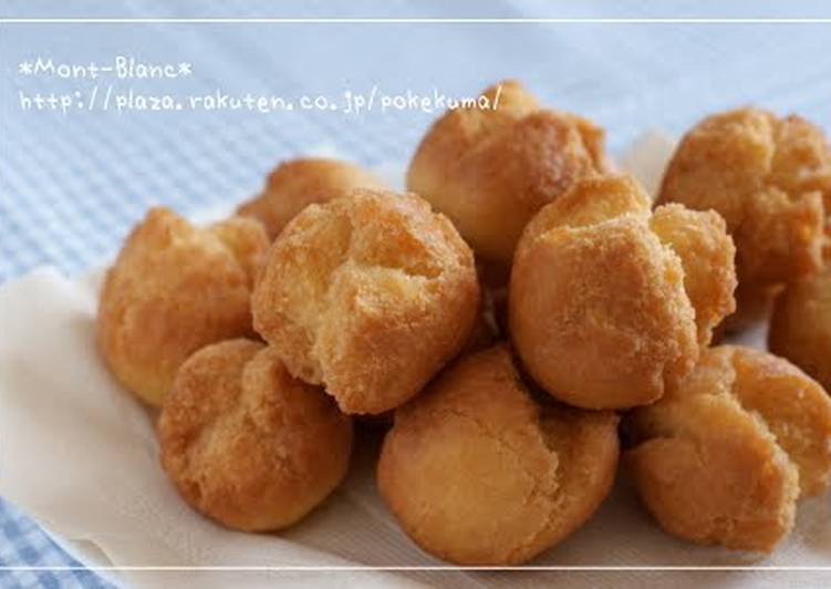 Steps to Prepare Ultimate Easy Snack Made with Pancake Mix Sata Andagi (Okinawan Doughnuts)