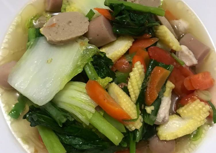 Capchai Sayur Sederhana