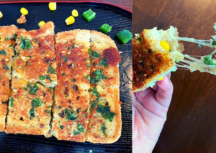 Cheesy Garlic Bread in 10 minute | Garlic Bread | Instant Recipe