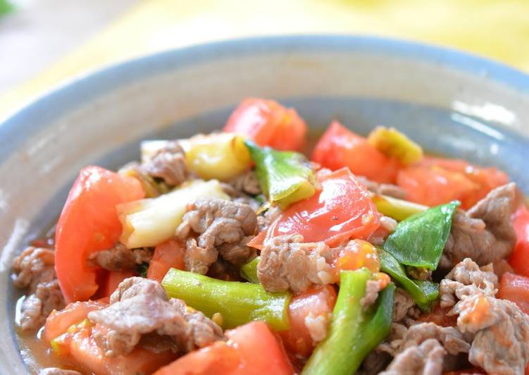 Easy & Refreshing Beef Stir-Fry