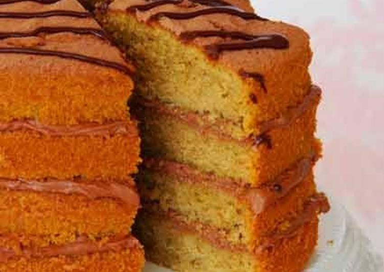 Recipe of Perfect Coffee and Orange cake