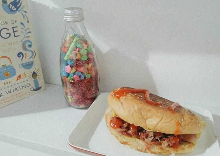 Resep Sandwich isi ala Roti John #BikinRamadanBerkesan Bikin Ngiler