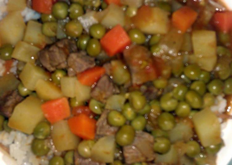 Recipe of Ultimate Green peas with rice