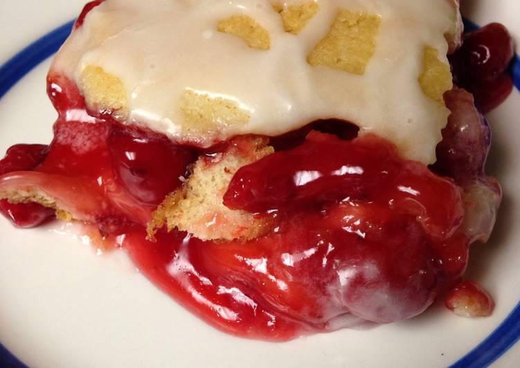 Recipe of Speedy Cherry Bar Dessert