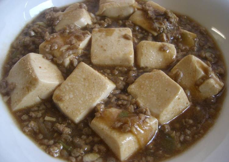 Recipe of Favorite Delicious! Kids Love This Mapo Doufu