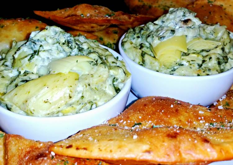 Mike's Favorite Spinach Artichoke Dip