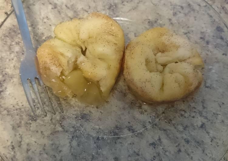 Easy Caramel Apple dumplings
