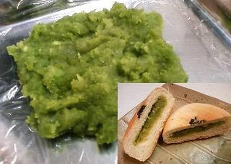 Fava Bean Paste (or Edamame)