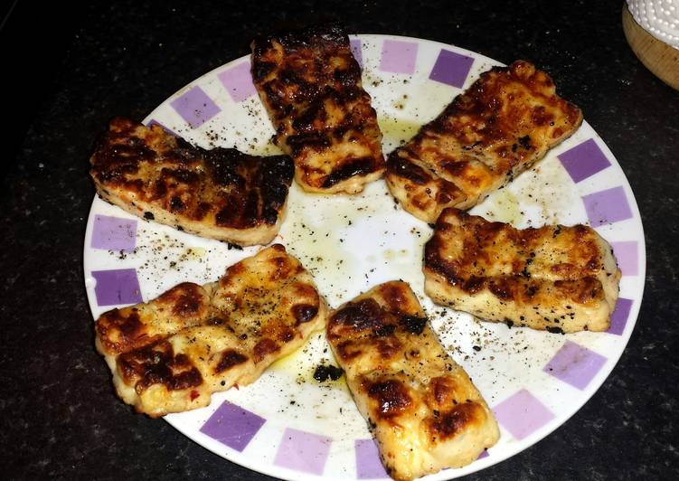 Barbecued Halloumi Cheese