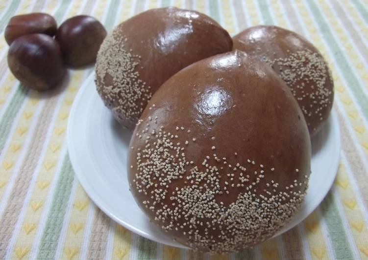 Foods That Make You Happy Chestnut Buns
