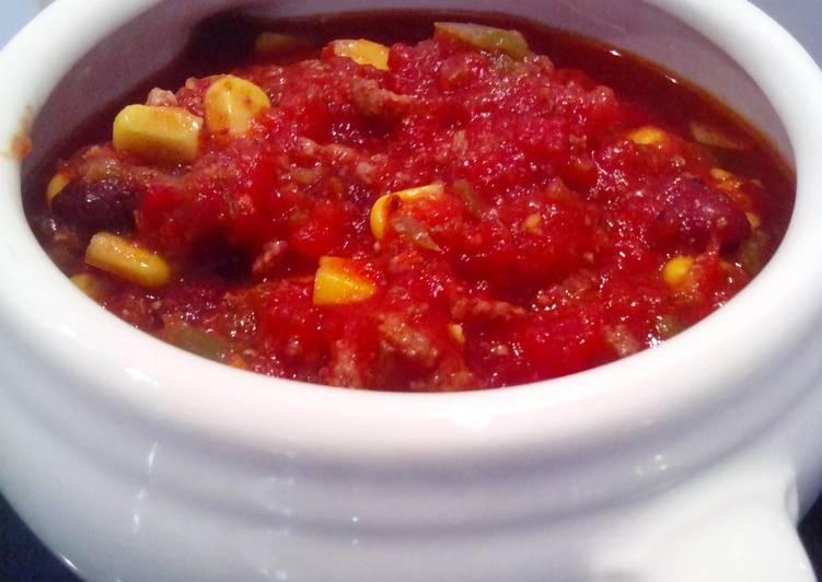 Potluck Chili con Carne