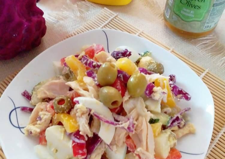 💢 Lowcarb Salad 💢