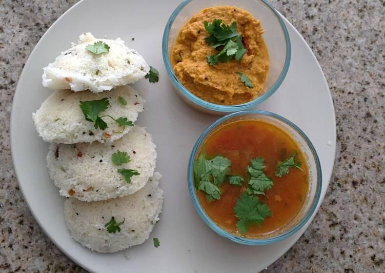 30 Minute Recipe of Blends Rava idli