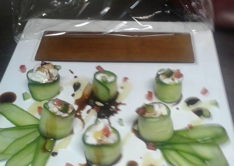 Stuffed cucumber