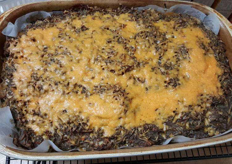 Potato Kugel (pareve) Adapted From California Kosher Cookbook 20