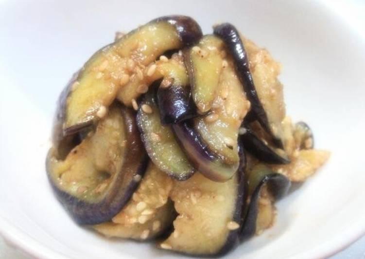Easy Eggplant Namul