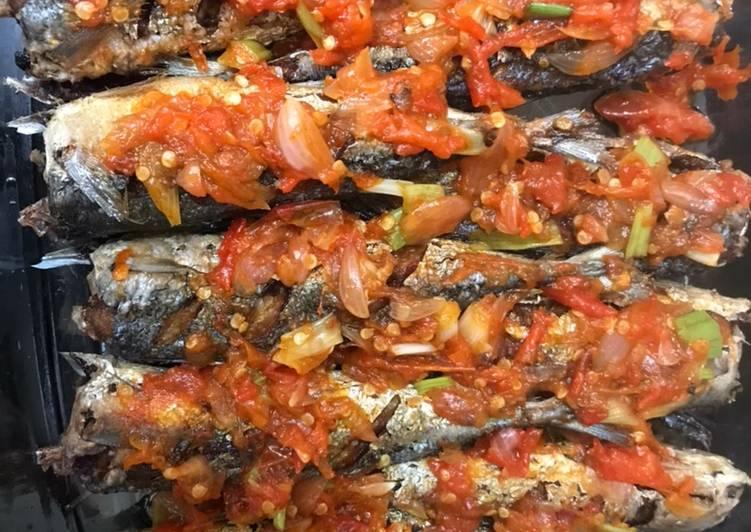Resep Balado Ikan Benggol Oleh Mama Kiki Cookpad