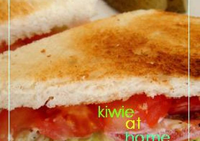 Low Calorie Turkey Sandwich