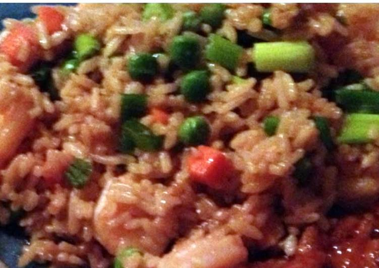 Recipe of Homemade Shrimp Fried Rice