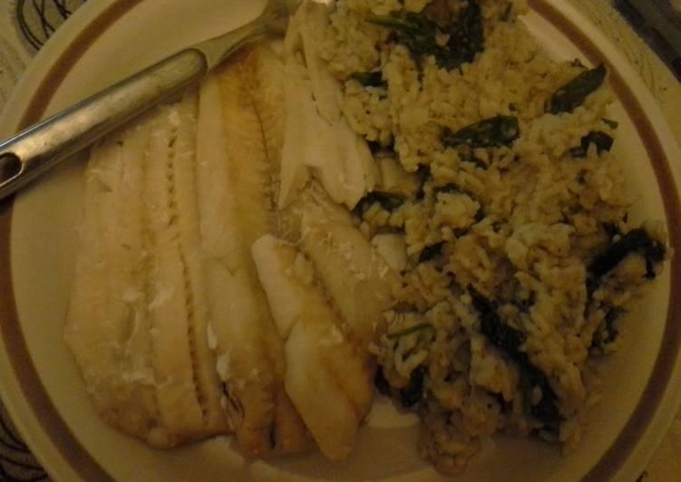 Recipe: Yummy Risotto & fish