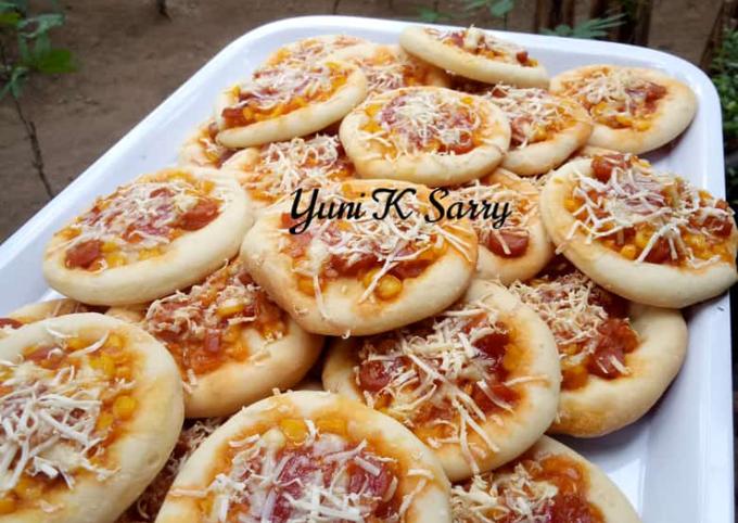 Resep Pizza Mini Ekonomis Oleh Sakhiyfayy Sarry Cookpad