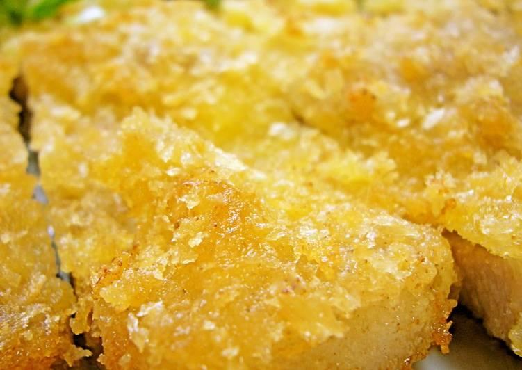 Non-Deep Fried and Easy Tonkatsu Pork Cutlets