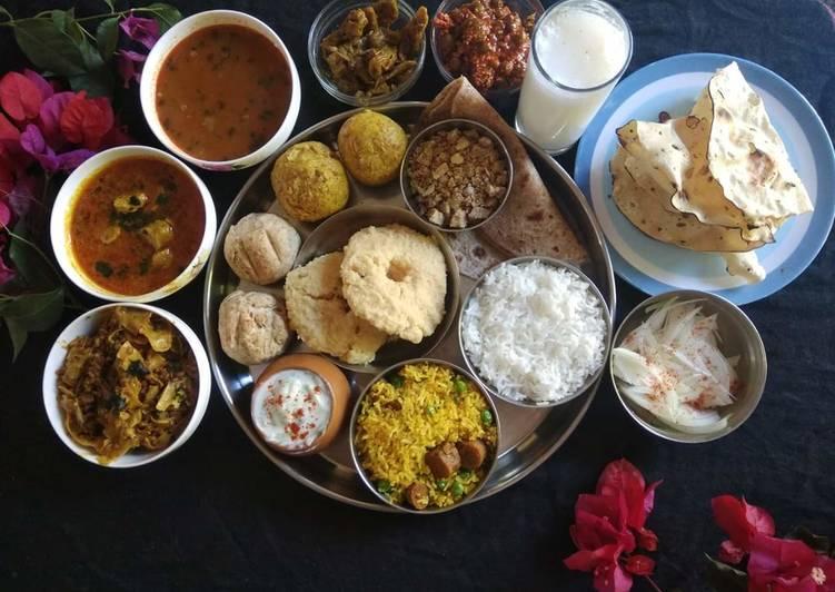 The Best Dinner Easy Quick Rajasthani platter
