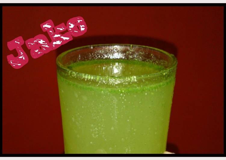 Jake's Mint Lime (a bunny drink)