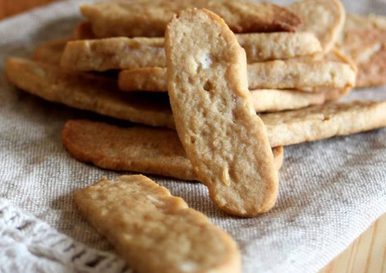 Recipe: Succulent Hokkaido Potato Butter Cookies Made with New Potatoes
