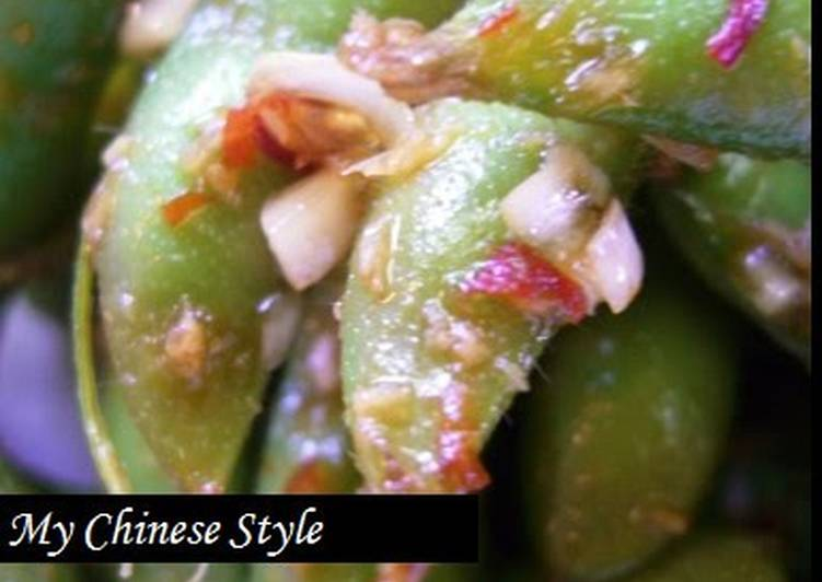 Chinese-Style Spicy Edamame