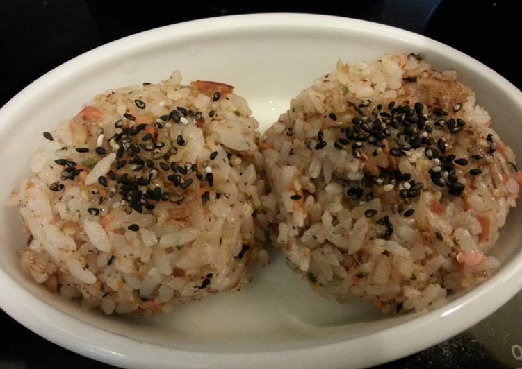 Salmon Japanese Riceballs