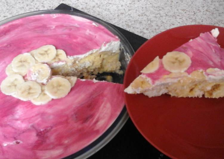 My Doughnana and Custard Cream Dessert 😀😉