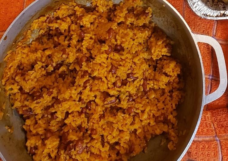 Recipe: Tasty Rice & beans