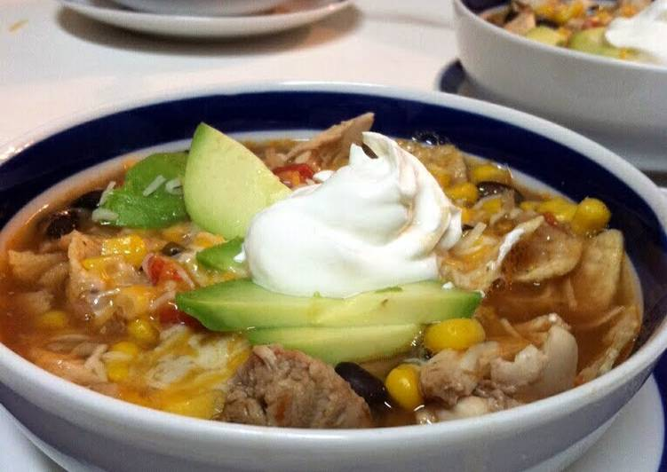 Chicken Tortilla Soup, Finding Nutritious Fast Food