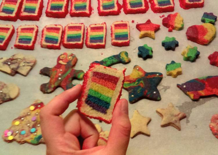 Your Health Can Be Impacted By The Foods You Decide To Eat Rainbow madness cookies