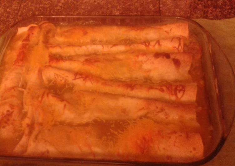 Recipe of Favorite Pork Roast Enchiladas