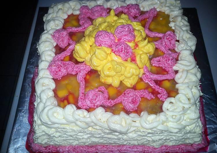 Momi Mango Puding Soft Cake